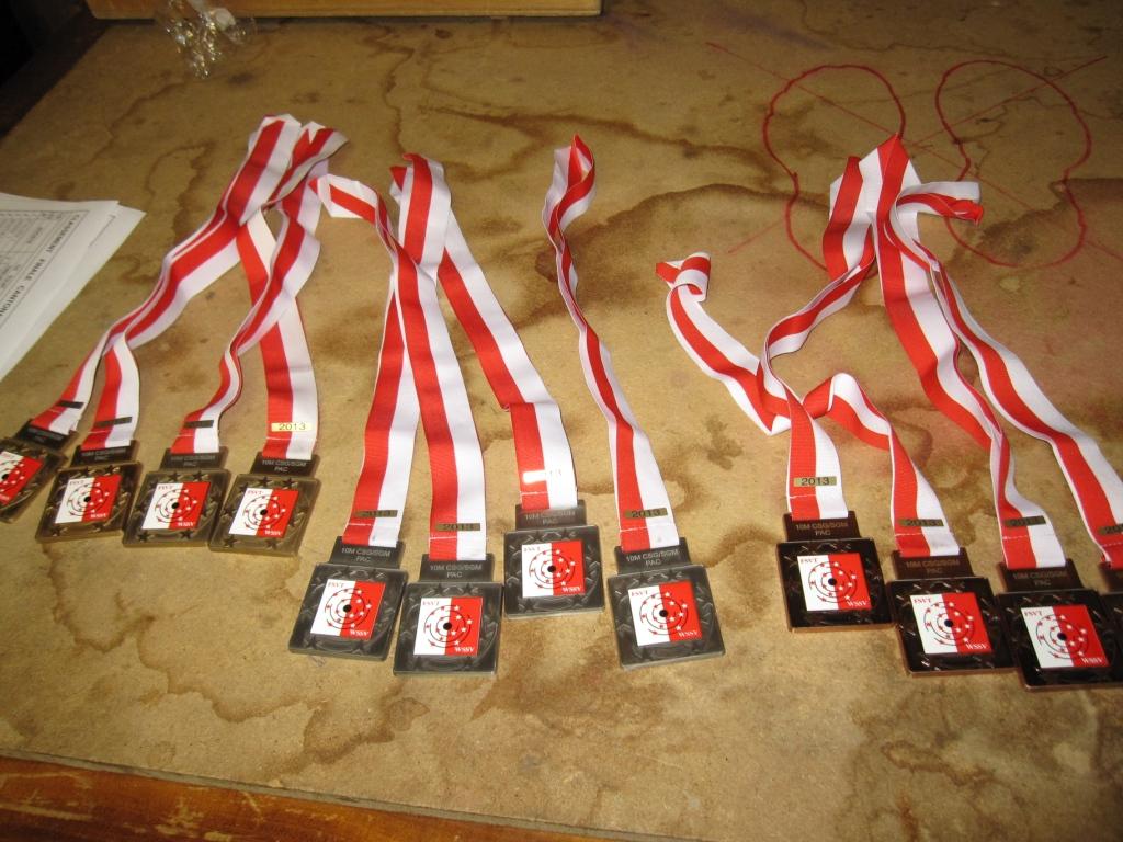 finale-pac-csg-10m-2013 les médailles