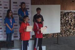 2016 - Finale champ. CH Jeunes Pist.