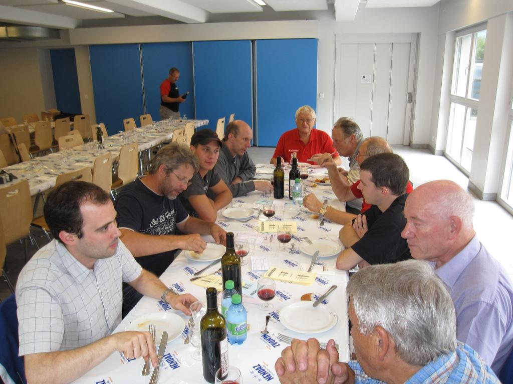 Match Romand 2011 Repas